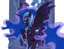 Nightmare Moon by FallenInTheDark