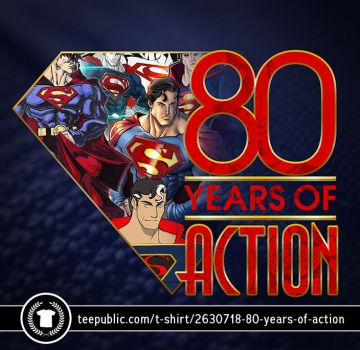 80 Years of Action by GavinMichelli