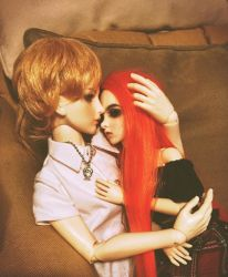 BJD ART II: The Embrace, Ver. 1 by AlloraLang