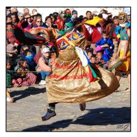 Dance of the drums by gastonnerie