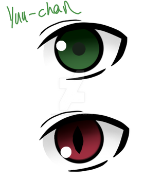 .:Owari no Seraph:. Yuus eyes by pinkDiamond1362