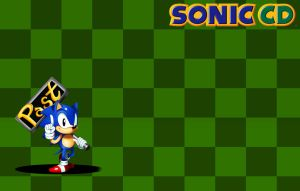 Sonic CD: Wallpaper 1 by ss2sonic