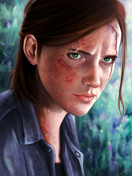 Ellie, The Last of Us Part 2 by lara-cr