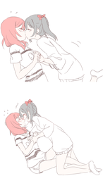 Nico and Maki by 32channel