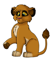 Charlie Lion by Charlie-Breen