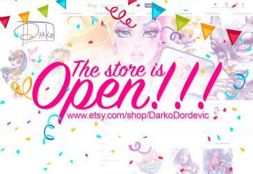 The store is OPEN by darkodordevic