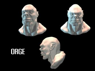 Orge head by Sasin
