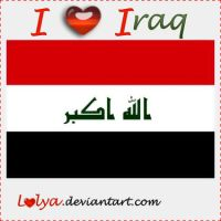 I Love Iraq-My country by lolya