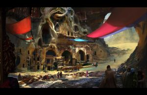 Fremen Settlement by fmacmanus