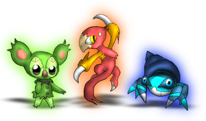 Starters- Stage Uno by LE-the-Creator