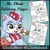 Whisker Haven Mr Chow Coloring Page by SKGaleana