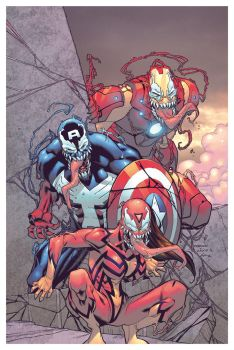 Venom Avengers by Barberi and Vlasco by Ross-A-Campbell