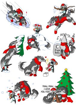 Wolf Link Chaos x-mas special by Humanoid-Magpie