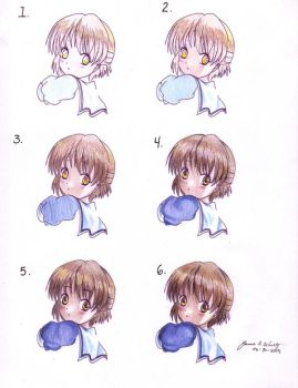 How I color, Tutorial by cmstpp