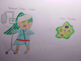 [Cookie Run/OC] Terminal Illness Cookie by Dilettante1337