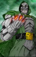 Dr. Doom and his power by DoooM