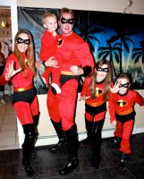 The Incredibles by cosplaynut