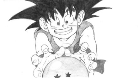Kid Goku by SakuSagi96