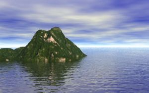 Island Wallpaper by mikethedj4