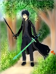 Sword Art Online - Kirito by blizzardfoot