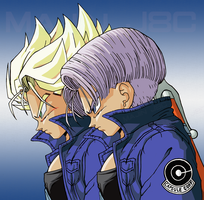 Hope! Trunks is a Super Saiyajin too by Majin-J8C