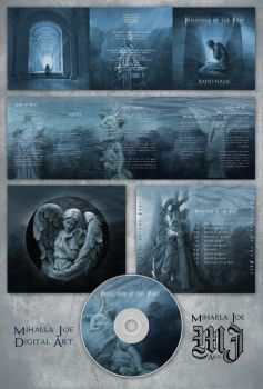 Premade album layout - Phantoms of the Past by MihaelaJoeDesigns