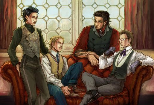 FFXV formal photoshoot by beanclam