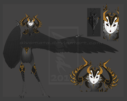 Haroth Auction: Queen of Spades [closed] by Aivomata