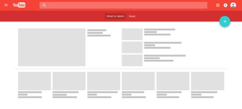 YouTube with Material Design v2 Concept by JovicaSmileski