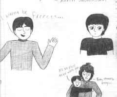 Davy, Paul, and Mike by girlwitharubbersoul