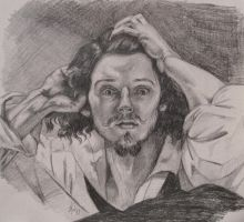 Desperate Man - Pencil Study by hever