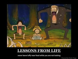 one piece motivational lesson by oban39