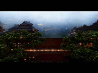Chinese city by aiRaGe