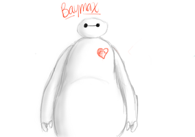 Baymax by purple-and-sparkley