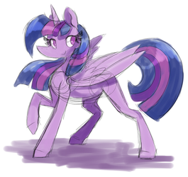 Twily colored sketch by PegaSisters82