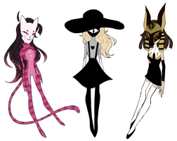 Masked SP Adopts [OPEN 1/3] by ImaginationTrap