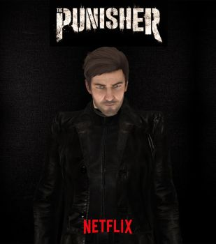 Punisher - Netflix by WoodEduards97