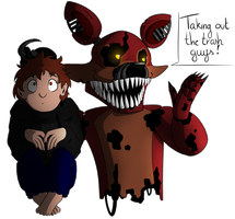 Taking out the garbage guys! by SideshowFreddy