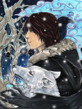winter is coming by Anixien