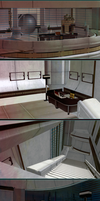 Mass Effect: Liara's office(Scene for XnaLara) by Sia-G