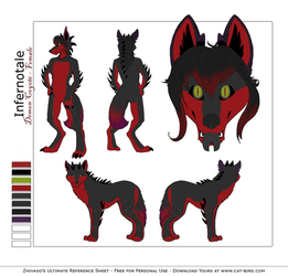 Cynder's Ultimate Ref Sheet by Infernotale