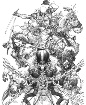 uncanny x-force 20 by leinilyu