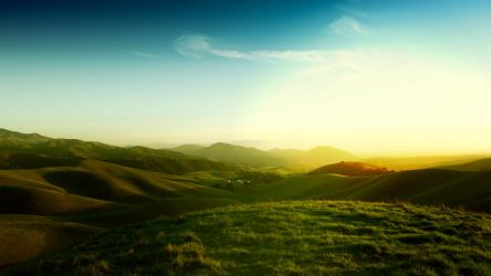 Californian Hills by balderoine