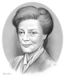 Maggie Smith by gregchapin