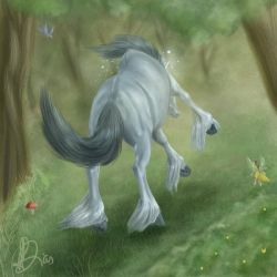 An enchanted moment by gomas-sketches