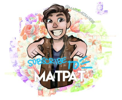 GTLive - MatPat Ad by MariaMediaHere