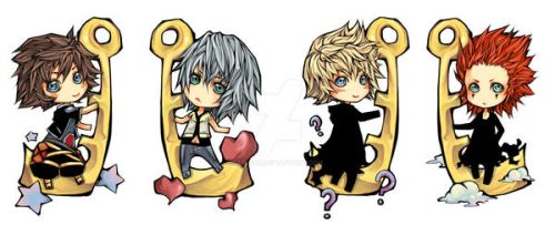 KH keychains set by Unodu