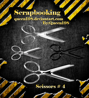 scrapbook Scissors by queen198