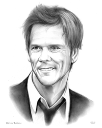 Kevin Bacon by gregchapin