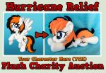 Hurricane Relief YCH Plush Charity Auction - CLOSE by equinepalette